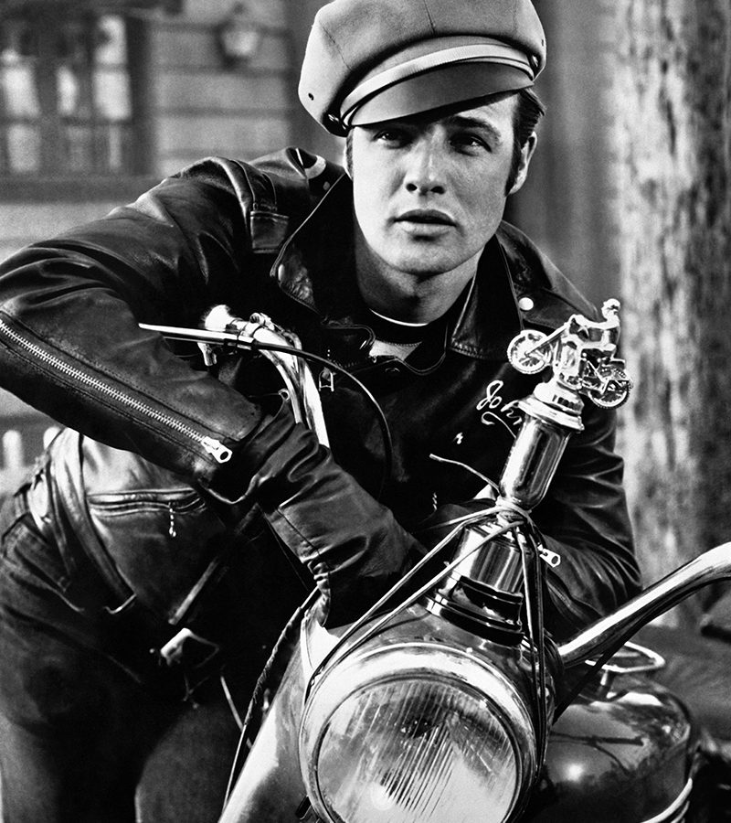 RP58MJ THE WILD ONE, MARLON BRANDO, 1953